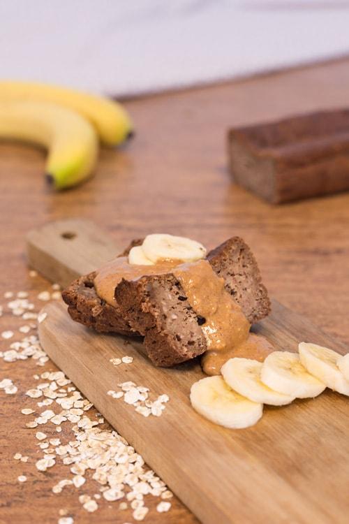 BananaCake uit pure ingrediënten