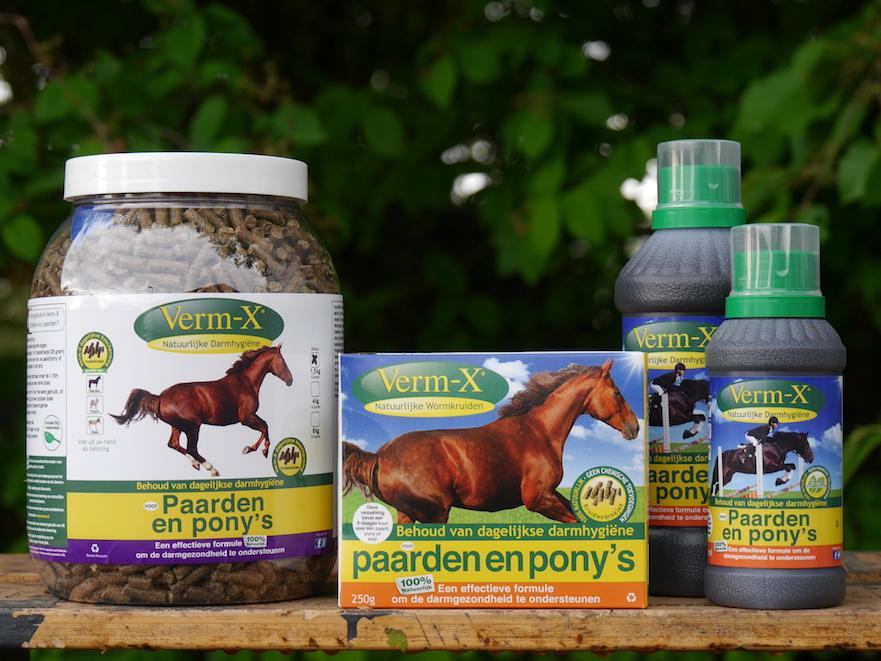 Verm-X natuurlijke ontworming voor paarden