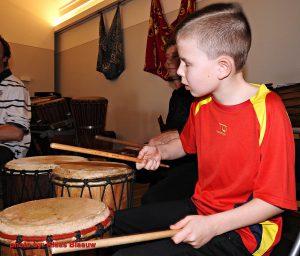 Meditatief drummen