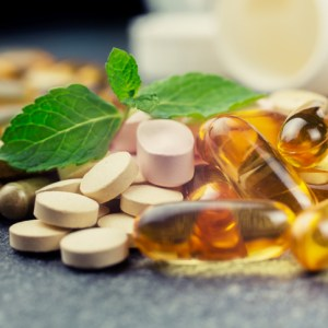 Vitaminen-Tabletten-Capsules