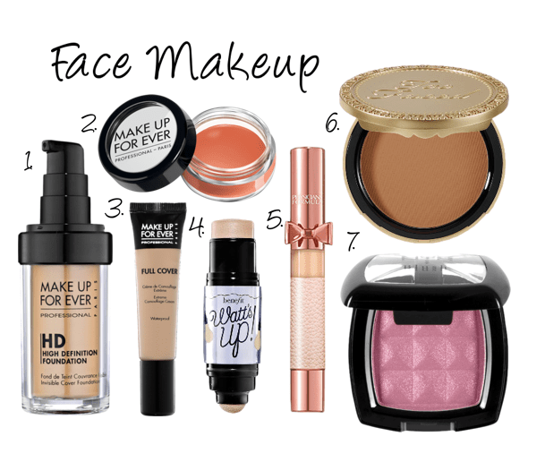 My Go To Makeup Products Naty Michele