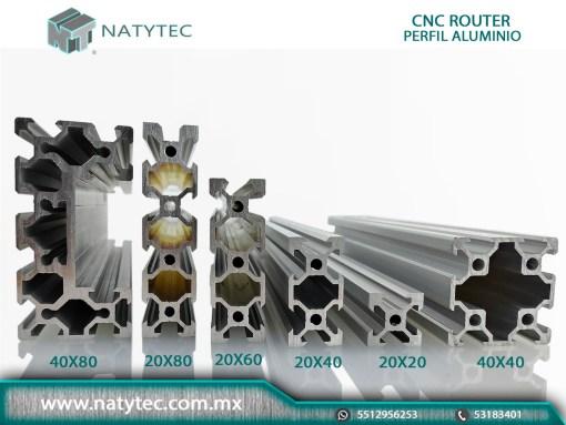 CNC Router Perfil Aluminio Precio
