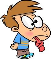 Момченце със заплетен език