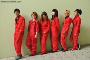 Коллектив «Kingyobu» состоит из  из пяти студентов Киотского университета искусства и дизайна