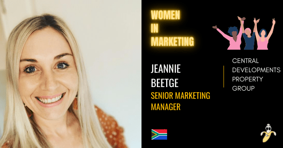 Jeannie Beetge , LinkedIn, Women In Marketing