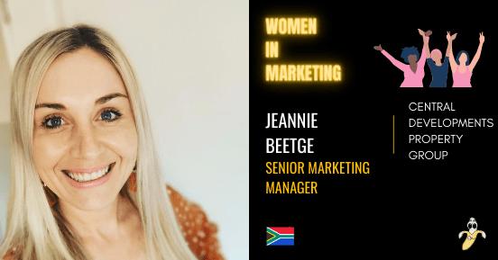 Jeannie Beetge , LinkedIn, Women In Marketing