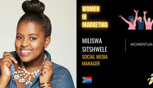 Miliswa Sitshwele, LinkedIn, Women In Marketing