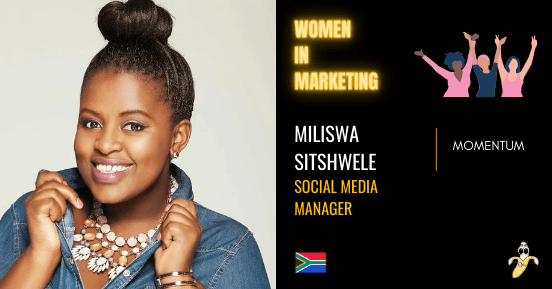 Miliswa Sitshwele, LinkedIn, Women In Marketing