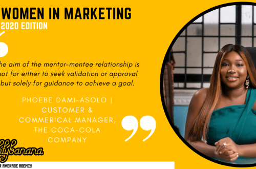 Phoebe Dami-Asolo, LinkedIn, Women In Marketing (Yellow)