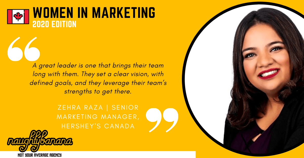 Zehra Raza, LinkedIn, Women In Marketing (Yellow) (1)