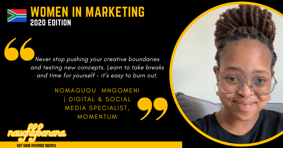Nomagugu Mngomeni, LinkedIn, Women In Marketing (Black)