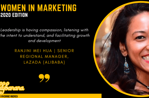 Ranjini Mei Hua, LinkedIn, Women In Marketing (Black)