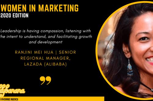 Ranjini Mei Hua, LinkedIn, Women In Marketing (Black)