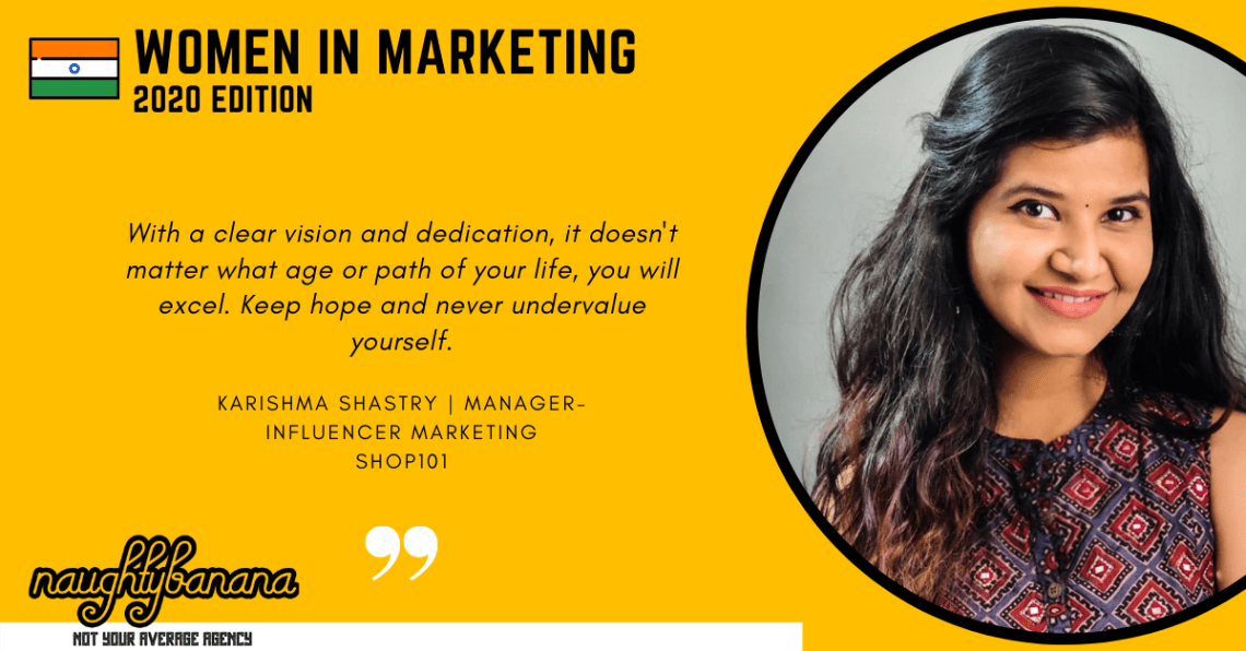 Karishma Shastry, LinkedIn, Women In Marketing (Yellow)