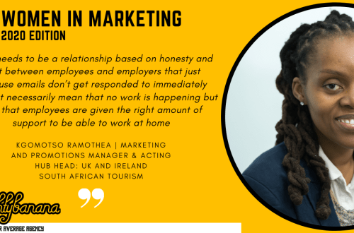 Kgomotso Ramothea, LinkedIn, Women In Marketing (Yellow)