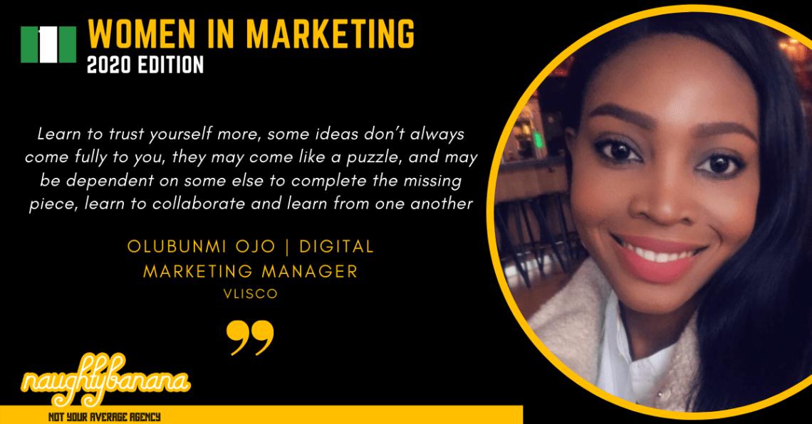 Olubunmi Ojo, LinkedIn, Women In Marketing (Black)