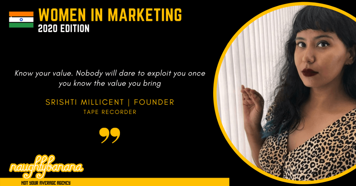 Srishti Millicent, LinkedIn, Women In Marketing (Black)
