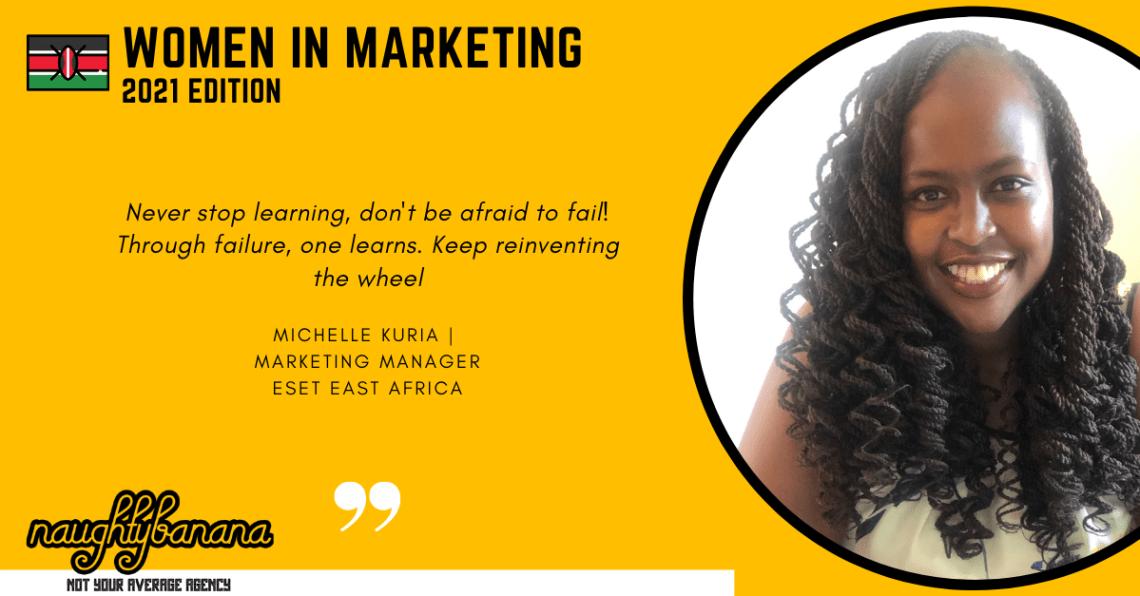Michelle Kuria, LinkedIn, Women In Marketing (Yellow)