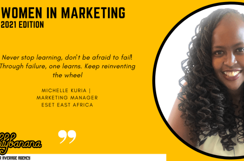 Michelle Kuria, LinkedIn, Women In Marketing (Yellow)
