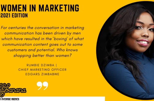 Rumbie Dzimba, LinkedIn, Women In Marketing (Yellow)