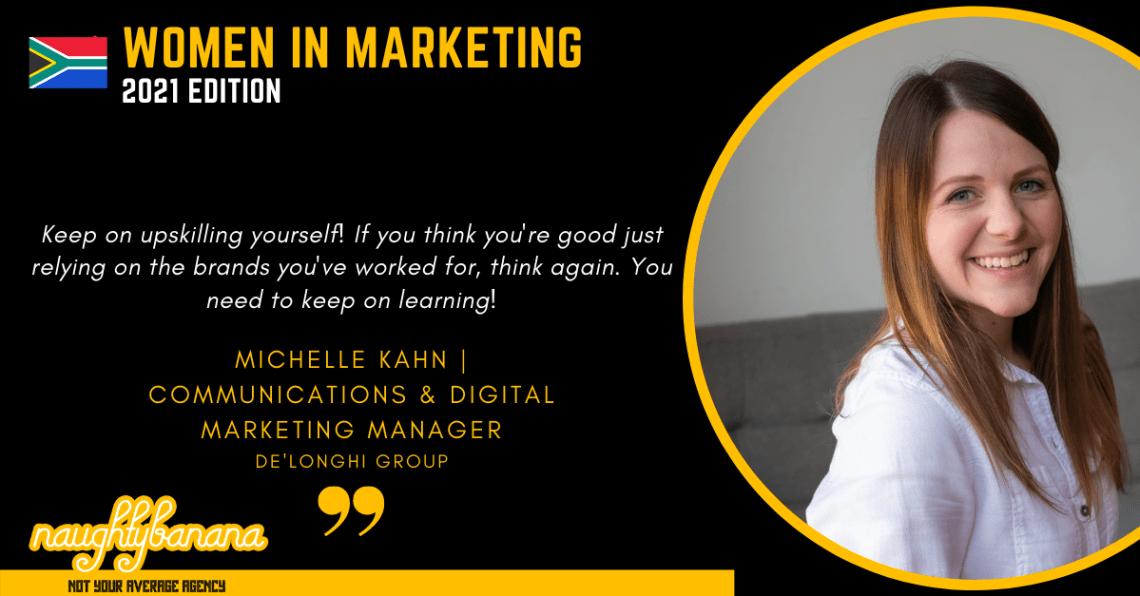 Michelle Kahn LinkedIn, Women In Marketing (Black)