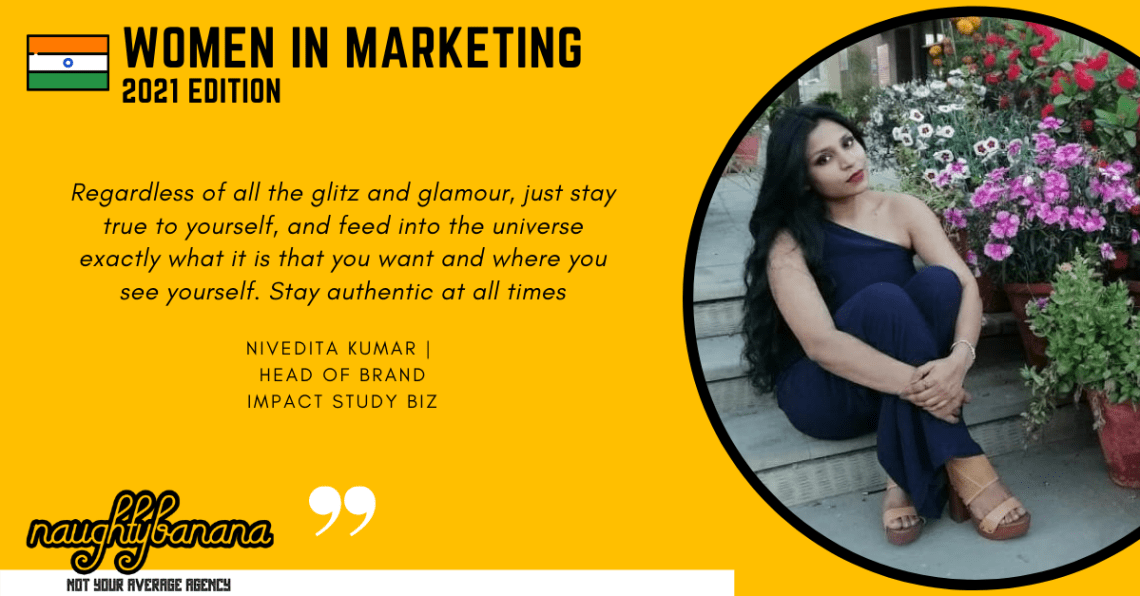 Nivedita Kumar, LinkedIn, Women In Marketing (Yellow)