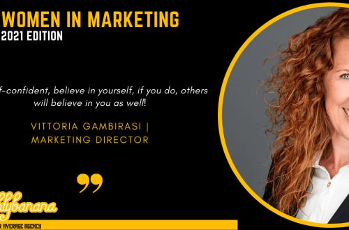 Vittoria Gambirasi, LinkedIn, Women In Marketing (Black)