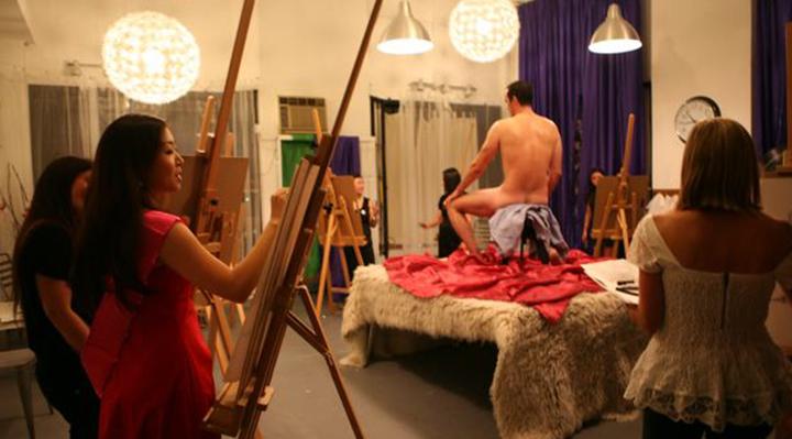 Nude Art Classes in Los Angeles   Naughty LA