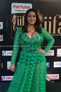 mumaith khan hot at iifa awards 2017 DSC_16160670_wm