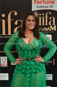mumaith khan hot at iifa awards 2017 DSC_16910742_wm