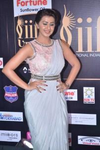 nikki galrani hot in saree at iifa awards 2017DSC_7589
