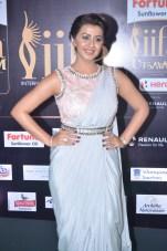 nikki galrani hot in saree at iifa awards 2017DSC_7598