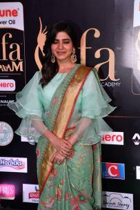 samantha hot at iifa awards 2017HAR_60520020
