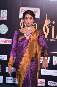 sanjjana hot in saree at iifa awards 2017 DSC_0594