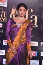 sanjjana hot in saree at iifa awards 2017 DSC_0632