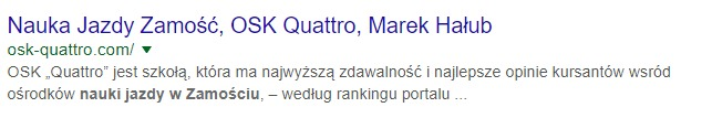 quatro zamość