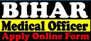 Bihar SHSB Medical Officer
