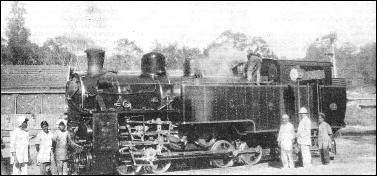 train engine on track of khanewal punjab