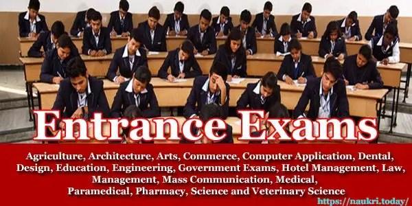 Entrance Exams 2017