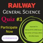 Railway General science quiz