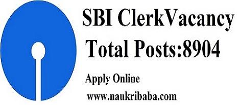 sbi clerk vacancy