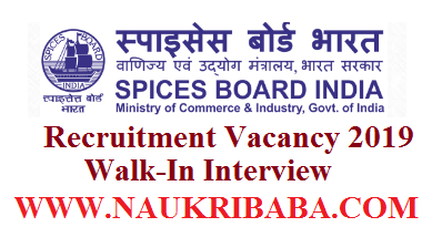 SPICsES BOARED RECRUITMENT 2019