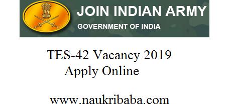tes army vacancy 2019