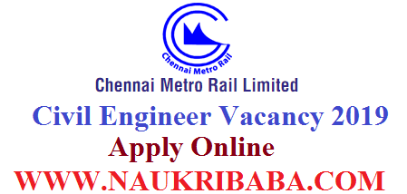 chennai metro vacancy 2019 apply soon