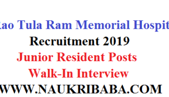 Kalpana Chawala Govt Medical College 2019-Senior Residents