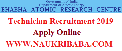 BARC STIPENDIARY TRAINEDE RECRUITMENT-VACANCY-2019