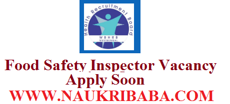 FOOD SAFETY INSPECTOR VACANCY 2019