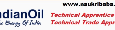 Apply for Technical & Non-Technical Trade Apprentice in IOCL, Last Date- 26/02/2021.