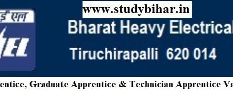 Apply Online for Trade Apprentice, Graduate Apprentice & Technician Apprentice Vacancy-2021, Last Date-14/04/202