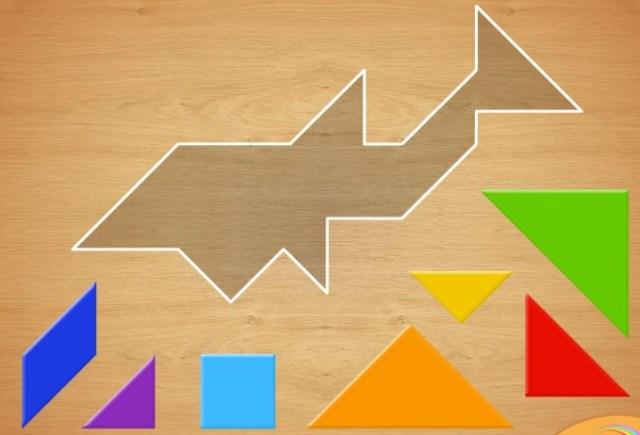 Добірка мультфільмів та ігор, що допоможуть першокласникам розрізняти геометричні фігури - tangram